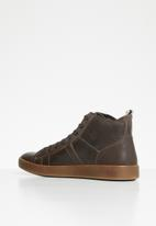 Jack & Jones - Duncan leather sneakers - brown