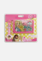 Character Fashion - Barbie wallet & watch set - pink