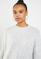 Superbalist - Soft touch turtle neck knit - grey