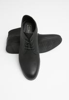 Jack & Jones - Desmond lace-up boot - black