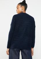 Superbalist - Soft touch turtle neck knit - navy