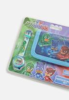Character Fashion - PJ Masks wallet & watch set - multi