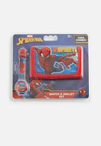 Character Fashion - Spider-man wallet & watch set - multi
