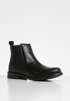 Vero Moda - Sally leather boot - black