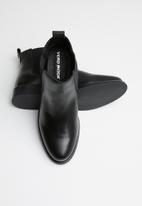 Vero Moda - Sally leather boot - black