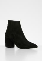 Vero Moda - Astrid suede boot - black