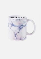 Typo - Anytime mug mean without caffeine - white