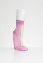 Hysteria - Flippa ankle socks - pink & beige