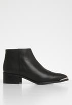 Vero Moda - Bella leather boot - black