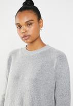 Superbalist - Melange knitwear dress - grey