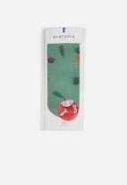 Hysteria - Mia print ankle socks - multi
