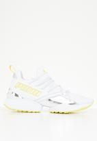 PUMA - Muse maia tz metallic - white & yellow