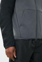 Nike - Tech fleece hoodie FZ - black & grey