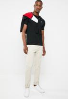 POLO - Crew neck tee - black