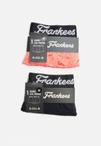 Franklees - Trunk pack - navy & coral