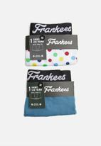 Frankees - Trunk pack - blue & white