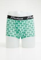 Frankees - Trunk pack - green & purple