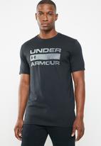 Under Armour - UA team issue wordmark - black