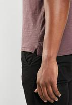 STYLE REPUBLIC - Soft pocket tee - purple