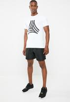 adidas Performance - Tango gr crew ss tee - white & black