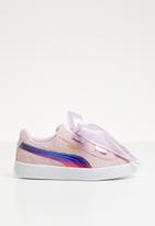 PUMA - Minions Suede Heart Fluffy - winsome orchid
