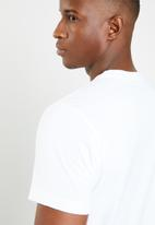 adidas Performance - Bos crew short sleeve tee - white & black