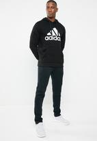 adidas Performance - Bos pullover hoodie - black & white