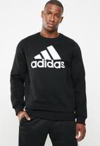 adidas Performance - Bos crew sweater - black & white