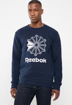 Reebok Classic - AC FT Big Starcrest crew - navy