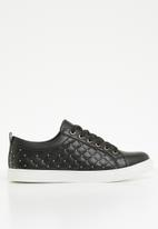 ALDO - Wicardowia studded lace-up sneaker - black