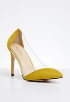 Public Desire - Filter stiletto heel - yellow
