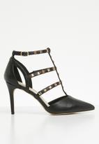 ALDO - Adaovia studded caged stiletto heel - black