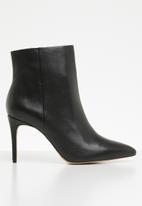 ALDO - Wiema leather ankle boot - black