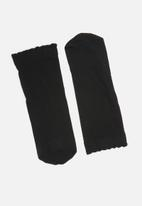 Pieces - Nikoline ankle socks - black