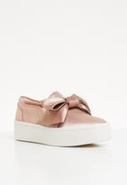 ALDO - Mccoulskey front bow slip-on platform espadrille - pink