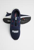 PUMA - Hybrid NX - peacoat-high risk red-Puma white