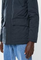 New Look - Mid cotton parka - navy