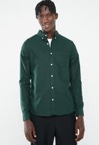 New Look - New oxford slim fit shirt - green