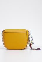 d88182bff70 Disspain side tie scarf crossbody bag - yellow ALDO Bags & Purses ...