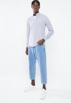 Cotton On - Brunswick shirt  - navy & white