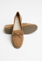 ALDO - Adrerini leather moccasin - brown
