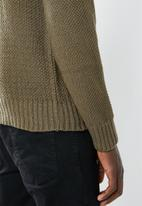 Superbalist - Oversized fisherman knit - green