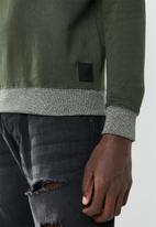 Brave Soul - Adriel sweatshirt - khaki