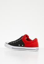 Converse - Chuck Taylor all star high street - ox - enamel red/black/white