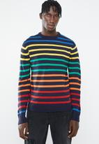 Brave Soul - Skit striped jersey - multi