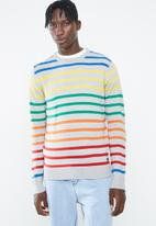 Brave Soul - Skit striped jersey - multi