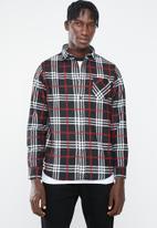Brave Soul - Enrico shirt - black