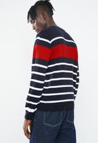 Superbalist - Stripe pullover knit - multi