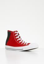 Converse - Chuck Taylor all star - hi - enamel red/black/white