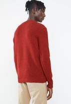 Superbalist - Loose fisherman knit - red